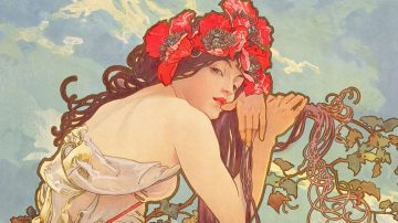 history of graphic design art nouveau