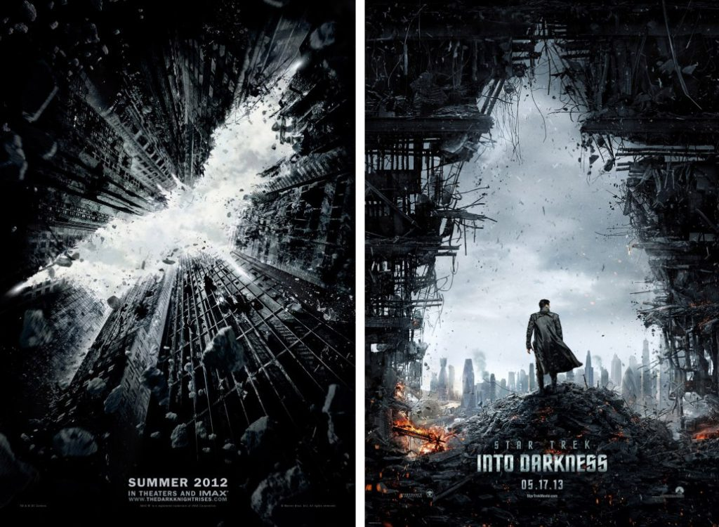 negative space in movie posters